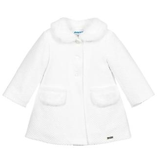 Mayoral baby baby girls off white coatigan 2407/64