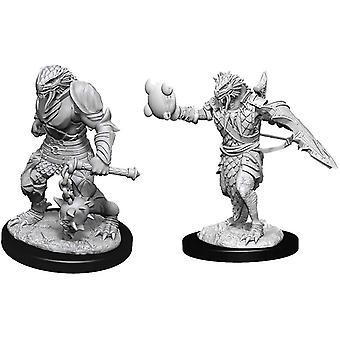 D&D Nolzur's Wonderfulous Unpainted Miniatures Male Dragonborn Paladin (Pack Of 6)