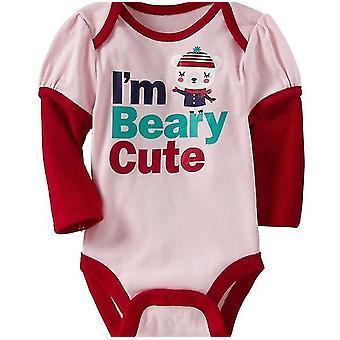 Baby Long Sleeve I'M Beary Cute Bodysuit