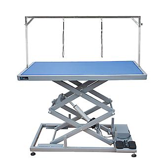 Groom Professional Everest Tall Electric Dog Grooming Table, Blue - 125cm