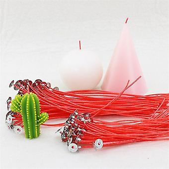 12cm Colorful Unique Red Soy Wax Quality Candle Wick