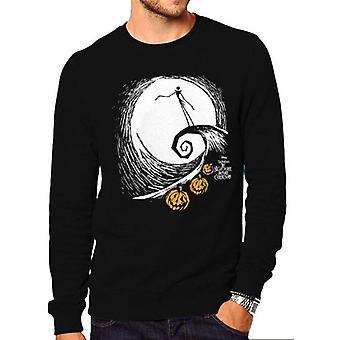 Nightmare Before Christmas Unisex Adult Jacks Lament Sweatshirt