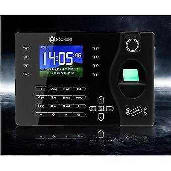 Realand K180 2.4inch TFT Color Network Fingerprint Time Attendance System Black