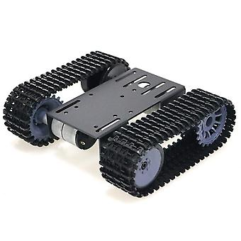 Smart Tank Tracked Chassis Remote Control Platform With Dual Dc Motor