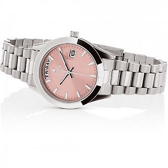 Hoops Luxury Day Date Pink 33mm Women's Watch
