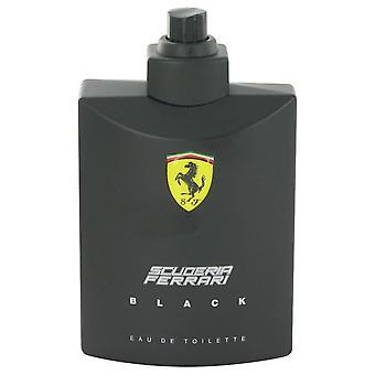 Ferrari Scuderia Black Eau De Toilette Spray (testare) av Ferrari 4.2 oz Eau De Toilette Spray