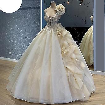 Gorgeous Light Champagne Celebrity Dresses