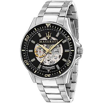 Mens Watch Maserati R8823140002, Automatisk, 44mm, 10ATM