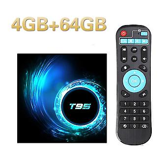 T95 tv box dla androida 10 allwinner h616 quad core 6k wifi android 4gb ram 64gb rom 10.0 media player youtube set top box