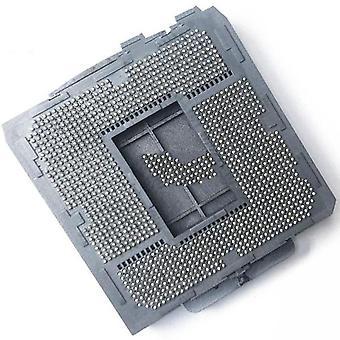 Lga1366 para placa-mãe soldando suporte de soquete bga cpu com estanho