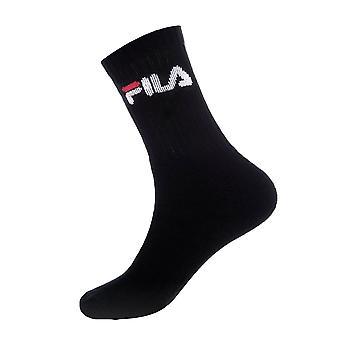 Fila Tennis 3 Pack Socks - Black
