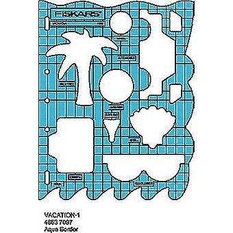 Fiskars Shape Cutter Template - Vacation