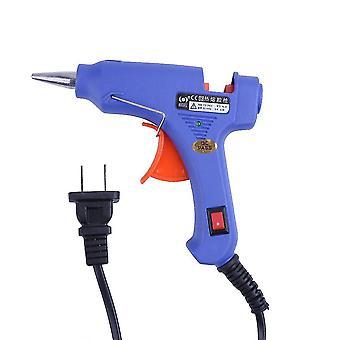 20W hot melt air glue gun high temp heater mini gun w/ 10pcs glue sticks for diy decorative tools paste small accessories