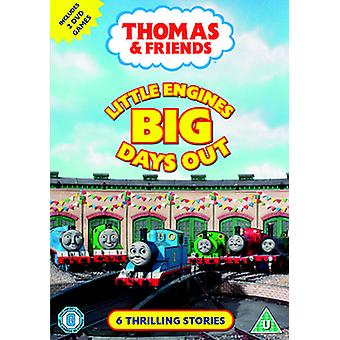 Thomas & Friends Pienet moottorit Big Day Out DVD