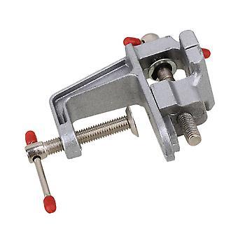 Liga de alumínio portátil Mini Joalheiros Hobby Clamp On Table Bench Vise Vice Tool