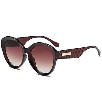 Vierkante gepolariseerde zonnebril voor mannen en vrouwen polygoon gespiegelde lens y1871