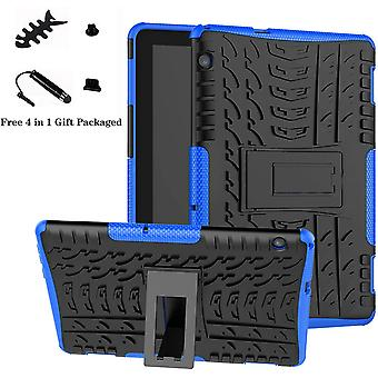 FengChun MediaPad T5 10 Hülle, Dual Layer Hybrid Handyhülle Drop Resistance Handys Schutz Hülle mit