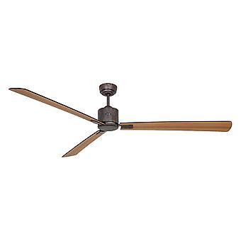 Ventilatore a soffitto DC ECO NEO III 180 BZ Nero / Teak