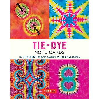 TieDye 16 Note Cards by Edited by Tuttle Publishing