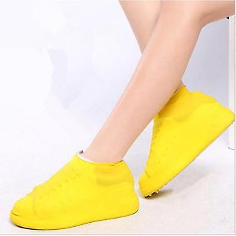 Boots Waterproof Shoe Cover Silicone Material Unisex Shoes Protectors Rain Boots