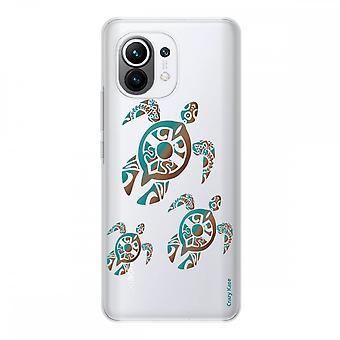 Hülle für Xiaomi Mi 11 Weich Silikon 1 Mm, Schildkrötenfamilie