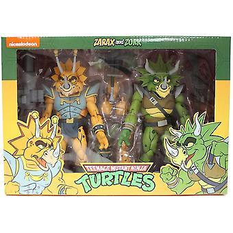 Zarax og Zork fra Teenage Mutant Ninja Turtles