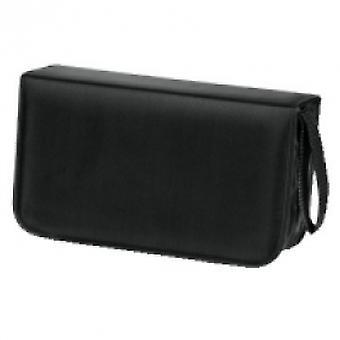 Hama CD Wallet Nylon 120 Black - 00033833