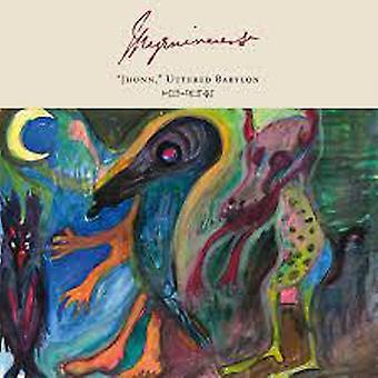 """Myrninerest – """"Jhonn"""" Uttered Babylon Limited Edition Vinyl"""