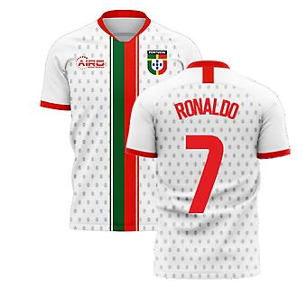 Portugal 2020-2021 Away Concept Football Kit (Libero) (RONALDO 7)