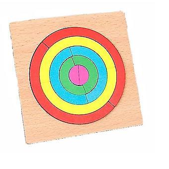 Regenbogen-Puzzle-Spiel dt7467