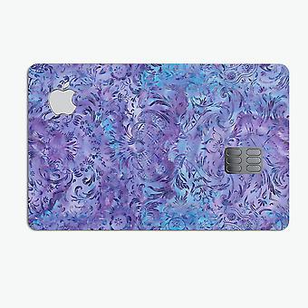 Purple Damask V2 Watercolor Pattern V2 - Premium Protective Decal