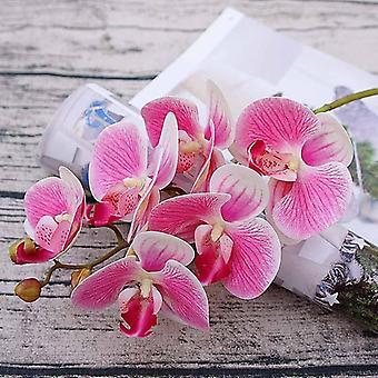 الفراشة البلاستيكية المزهريات السحلية لنباتات الديكور الرئيسية / الزهور الاصطناعية