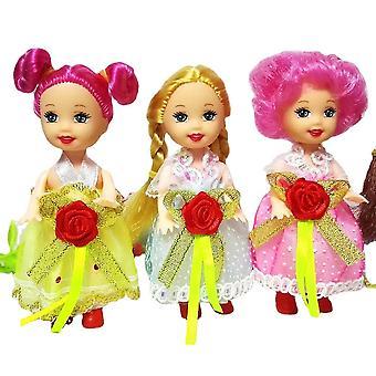 10Cm लिटिल केली गुड़िया खिलौने राजकुमारी गुड़िया जन्मदिन उपहार लड़कियों
