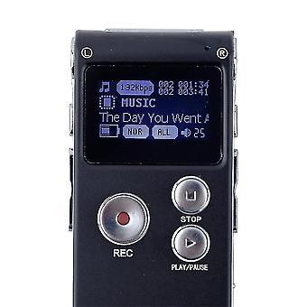8gb Digitální hlasový záznamník Cl-r30 650hr Dictaphone s funkcí disku U