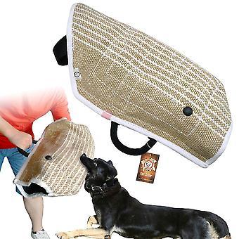 Owczarek niemiecki rękaw holowniki ochrony dla szkolenia psa pracy