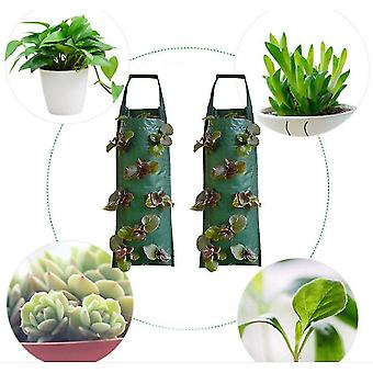 Wall-mounted Planting Bag Vertical Three-dimensional Multi-port Plant Bag(Style3)