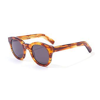 Monokel Eyewear Shiro Amber Grey Lens Sunglasses