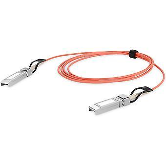 SFP+ AOC-Kabel 10 Gbit/s - 10m - Mini-GBIC - SFP-Modul - LWL Glasfaser Kabel