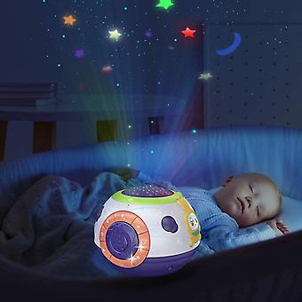 Baby Spielzeug ab 6 Monate Multifunktion Musikalisches Soundspielzeug Sternenhimmel Nachtlicht