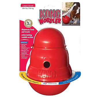 Kong small wobbler dog toy