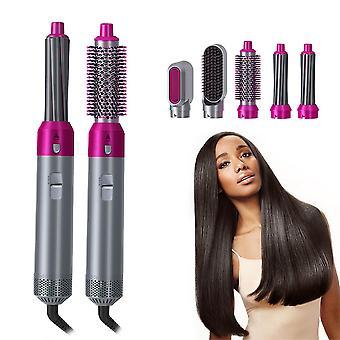 One-step hair dryer 5 in 1 hair curler rotating hair dryer hair straightener comb curling brush hair dryer styling for airwrap