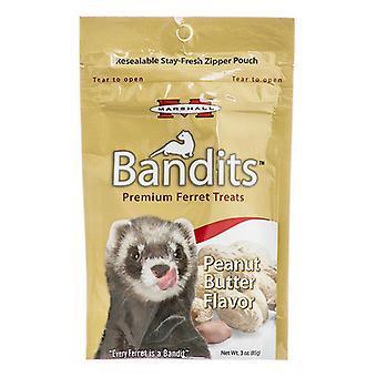 פינוקי חמוס פרימיום של Marshall Bandits - טעם חמאת בוטנים - 3 אונקיות
