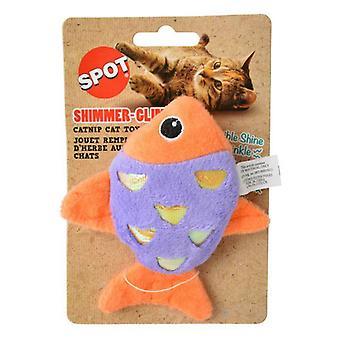 Spot Shimmer Glimmer Fish Catnip Toy - Diverse kleuren - 1 Count