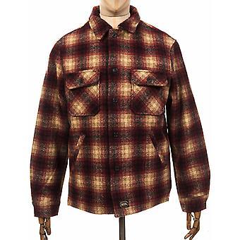 Deus Ex Machina The Piston Wool Shirt - Red