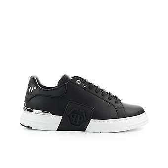 Philipp Plein Phantom Kick$ Lo-top Iconic Black Sneaker