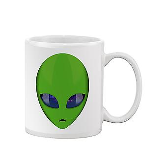 Green Alien Mug -SPIdeals Designs