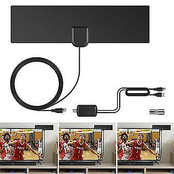מקלטי וידאו אודיו 4k 80 קילומטרים טלוויזיה דיגיטלית ביתי HD אנטנת אות חזק יותר אוניברסלי