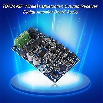 Tda7492p Wireless Bluetooth 4.0 Audio Receiver Digital Amplifier Board Audio
