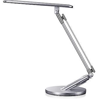 Led Touch Schreibtischlampe 14w einstellbare Tischleuchte mit 4 Beleuchtungsmodi, 7 Helligkeitsstufen, Timer-Funktion und Speicher