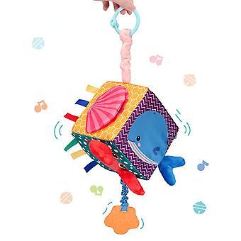 Nouveau-nés Jouets pour bébés éducatifs Pour enfants Peluches mobiles Rattle Toys Elephant Stacking Baby Toys Hand Bell